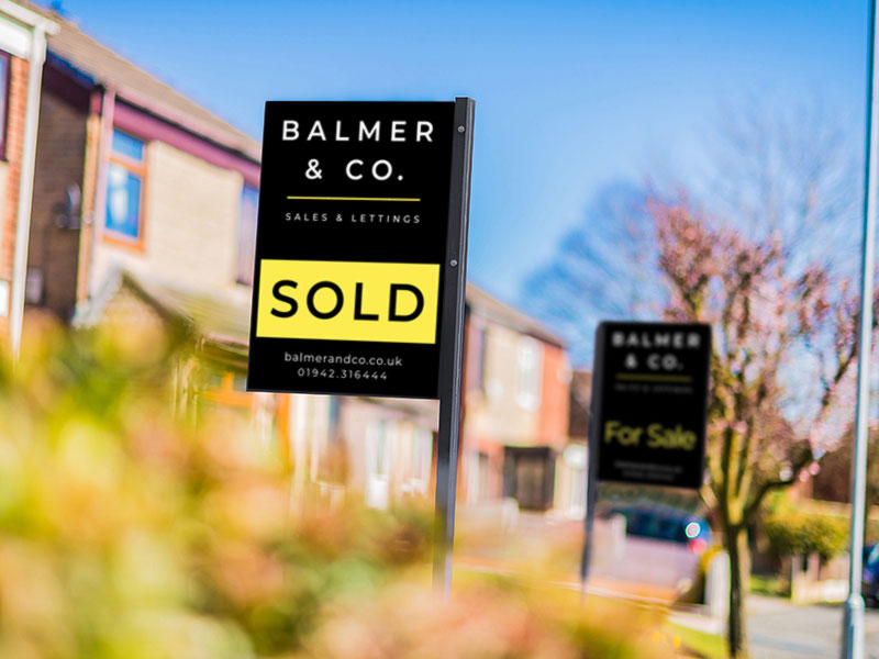 BEST Estate Agents Sale Boards
